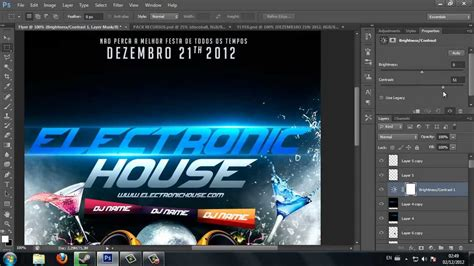 templates in photoshop cs6 speed art flyer photoshop cs6 youtube