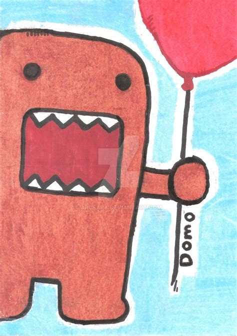 how to draw doodle domo domo kun drawing by arcsara on deviantart