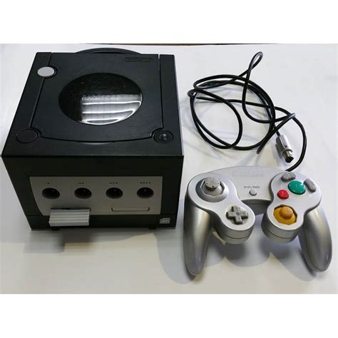 console gamecube console gamecube noir avec manette dvfstore