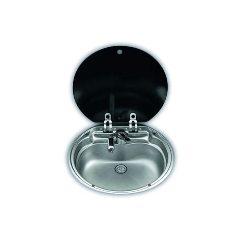 Evier Rond by 201 Vier Rond Avec Couvercle En Verre Dometic Sng 420