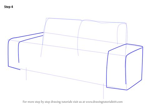 upholstery step by step learn how to draw a couch furniture step by step
