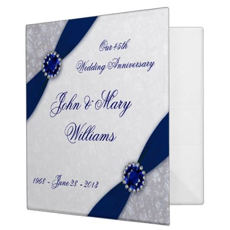 45th Wedding Anniversary   Party Invitations Ideas