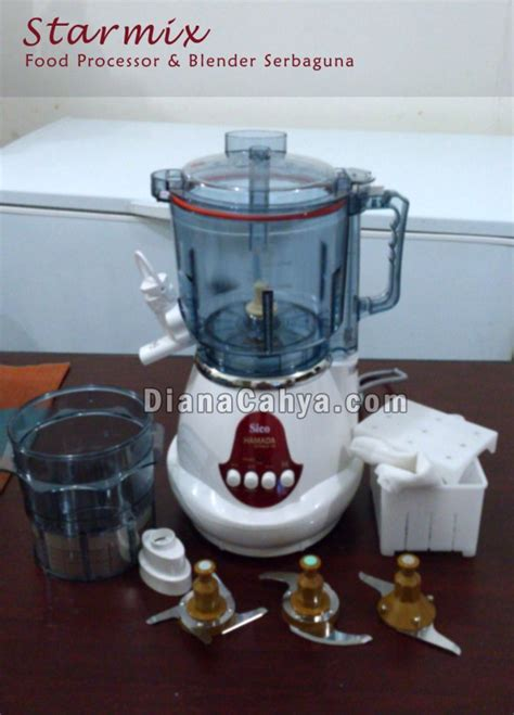 membuat bakso pake blender starmix food processor serbaguna aka electric multi mixer