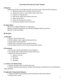 Detailed Lesson Plan Template by Semi Detailed Lesson Plan