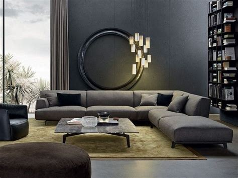 Modern Grey Sectional Sofa 40 Gray Sofa Ideas A Trend For The Living Room Furniture