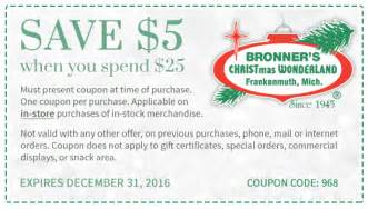 ideas about bronners christmas store coupons easy diy christmas decorations