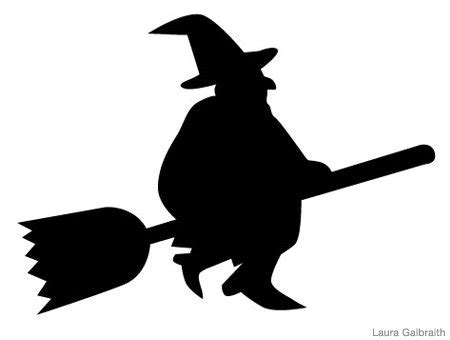 printable witch stencils halloween pumpkin carving stencils the weather channel