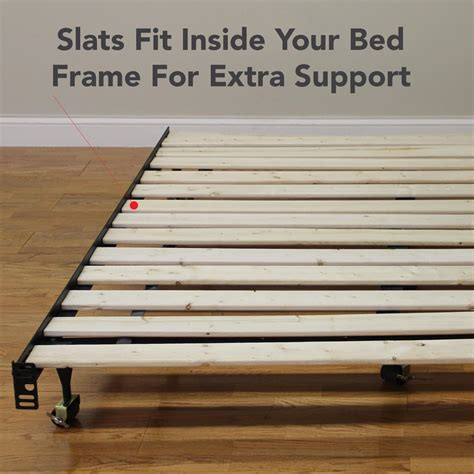 wood bed slats amazon com classic brands heavy duty wooden bed slats