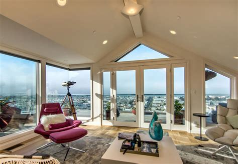 Susan Zises Green by Pacific Heights Penthouse And Exterior Remodel