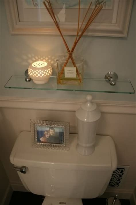 Glass Shelf Above Toilet Bathroom Pinterest Shelves Toilet Bathroom
