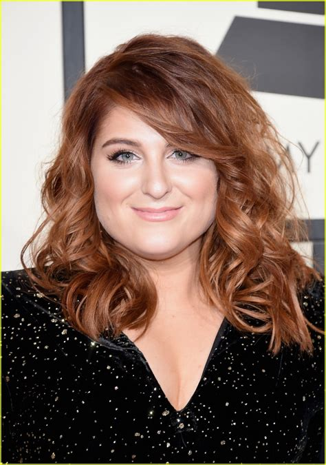 meghan trainor 2016 new hair full sized photo of meghan trainor grammys arrival 08