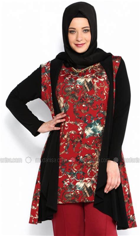Baju Batik Bigsize gambar model baju batik muslim big size terbaik 2015