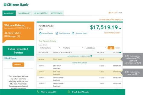 Citizens Bank Gift Card Balance - how to check your debit card balance infocard co