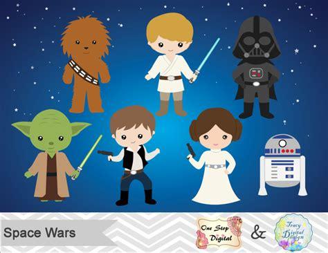 printable star wars characters instant download star wars digital clip art star wars