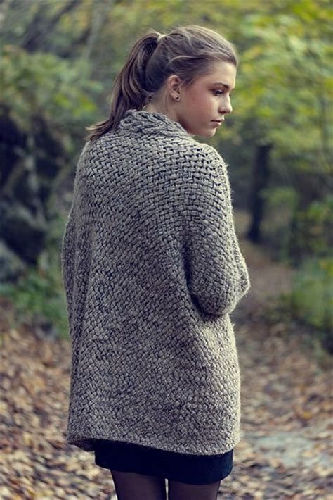 sweater knitting pattern dreamy weave cardigan pattern by katrine hammer ravelry