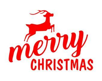 merry christmas svg etsy