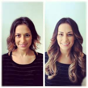 hair extensions before and after 18 best images about hair extensions before after on