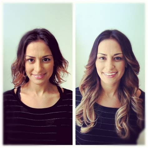 hair extensions before and after hair extensions ombr 233 hair extensions before and after hair extensions