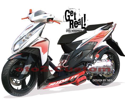 Lu Led Motor Vario 150 motor cycle modifikasi modifikasi honda vario cbs techno