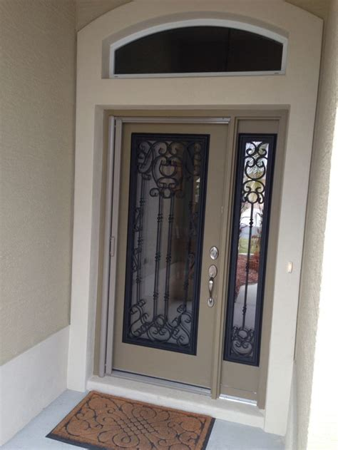 Exterior Door Glass Insert New Glass Inserts For Door And Sidelight Home Improvements Doors And Front Doors
