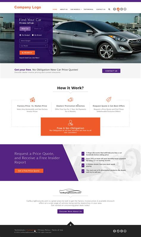 Car Dealer Website Template Ved Web Services Car Dealer Website Template