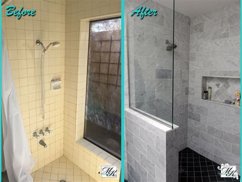 Before And After Shower by Bathroom Remodeling Mesa Az Mk Remodeling Design