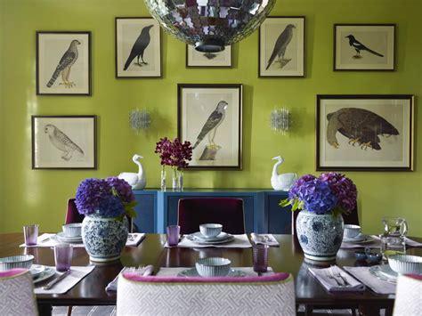 Olive Green Dining Room Walls 10 Green Dining Room Design Ideas