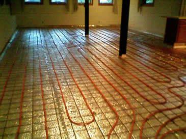 roth heated floor radiant heat hydronic radiant heat panels