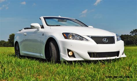 convertible lexus 2016 road test review 2014 lexus is350c f sport convertible