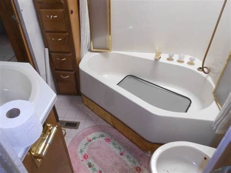 motorhome with bathtub before after an rv to call home design sponge