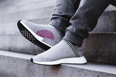 Adidas Nmd City Sock Sepatu Cowok adidas nmd city sock 2 black grey sneaker bar detroit