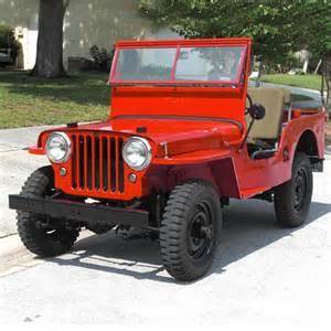 1947 jeep cj2a jeeps
