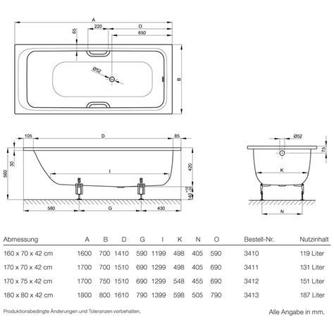bette select badewanne bette select badewanne 180 x 80 x 42 cm 3413 000 megabad