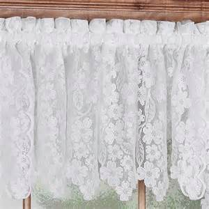 lace valances for windows dogwood lace window treatments