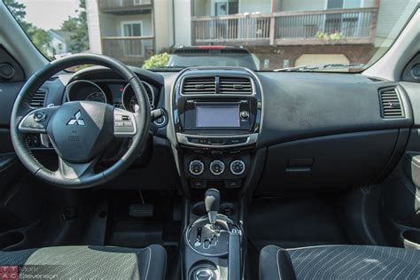 mitsubishi rvr interior 2015 mitsubishi outlander sport review star in