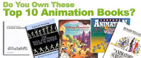 how to your books top 10 animation books