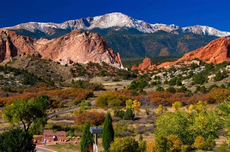 Garden Of Colorado Garden Of The Gods Colorado Us Feel The Planet