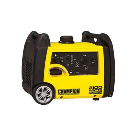 3 100 watt gasoline powered recoil start portable inverter