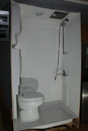 motorhome bathroom modules 152 best images about van cing ideas on pinterest toilets van shelving and gaucho