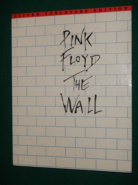 pink floyd the wall guitar recorded versions books pink floyd the wall guitar tablature songbook 1992 reverb