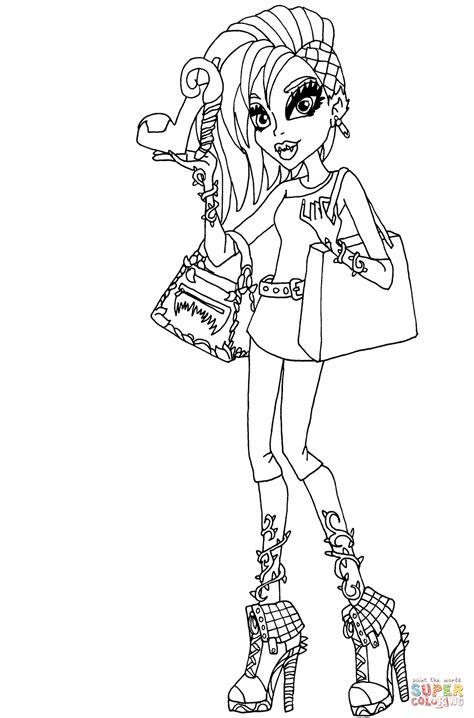 fashion doll coloring pages high venus mcflytrap coloring pages www pixshark