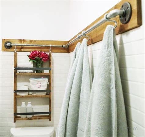 Bathroom Towel Bar Ideas by Riciclare Tubi Idraulici E Arredare Casa Ecco 20 Idee