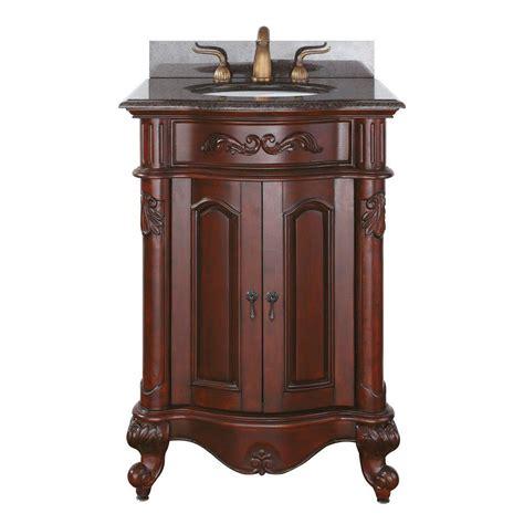 bathroom vanity granite top avanity provence 25 in vanity with granite vanity top and