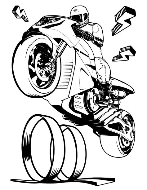 hot wheels motorcycle coloring pages hot wheels 50 coloringcolor com