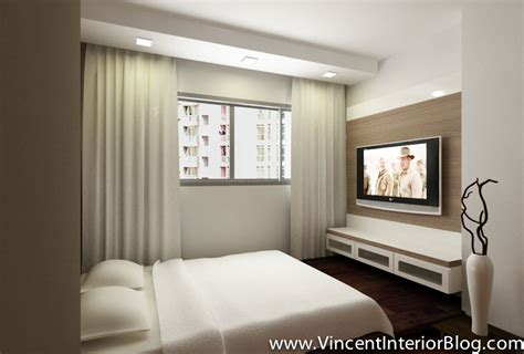 hdb master bedroom design woodland 4 room hdb renovation by behome design concept