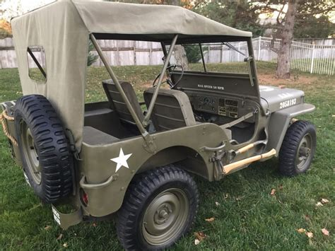 M38 Jeep Parts Jeep 1952 Willys M38 For Sale