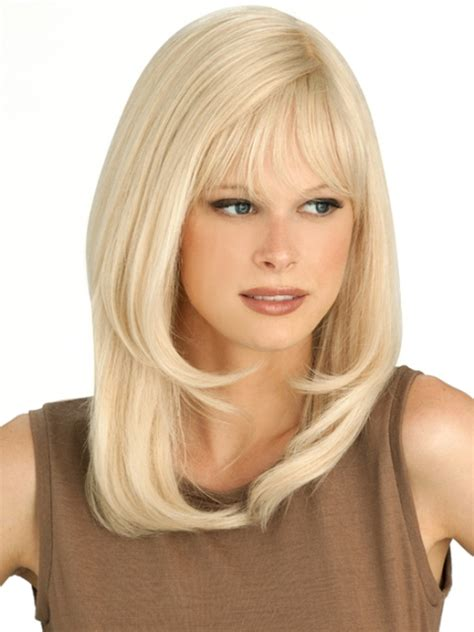 medium length hairstyle dor a squre jaw wigs for square faces photo short hairstyle 2013