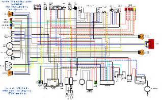 yamaha raptor 250 wiring diagram yamaha wiring diagram