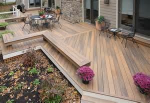 terrasse einfach bauen terrasse aus holz bauanleitung hochbeet ganz einfach