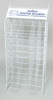 Poster Board Rack by Poster Board Display Rack 10 Tier Ref Rack Only 5222